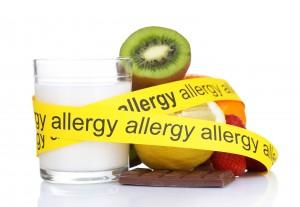 food allergies types